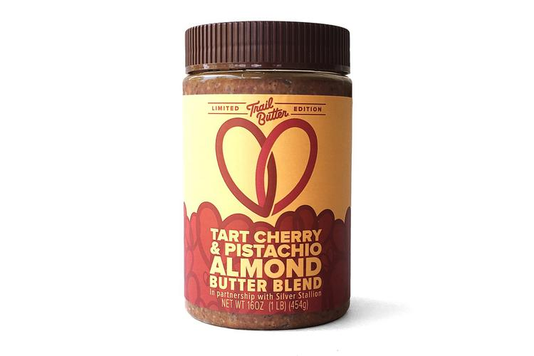 Trail Butter's Tart Cherry & Pistachio Almond Butter Blend is a Collaboration with Silver Stallion