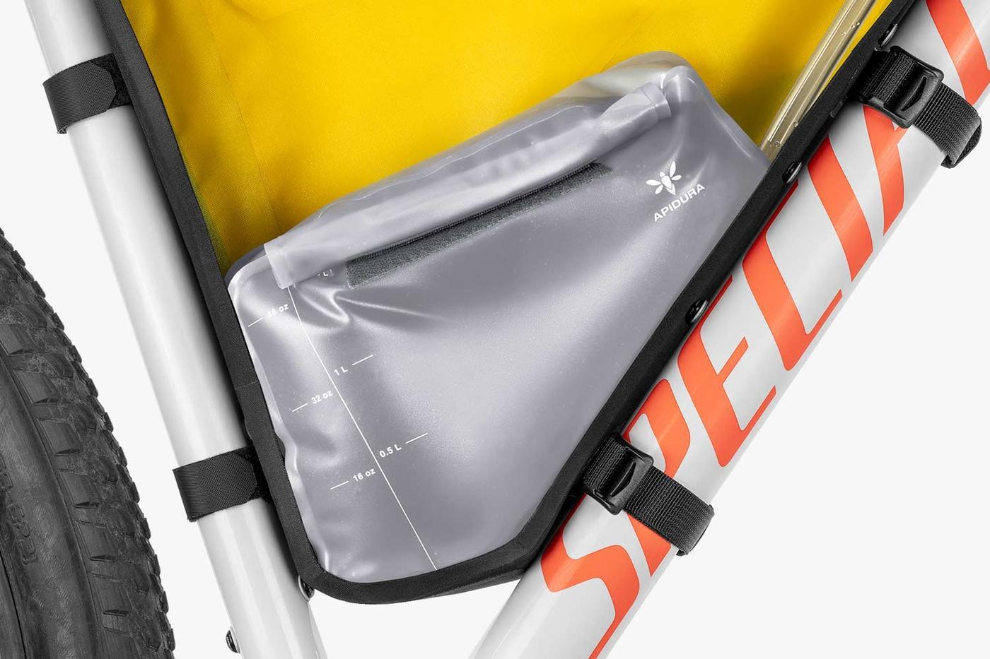 Apidura Innovation Lab: 1.5L Hydration Bladder for Bikepacking Frame Bags
