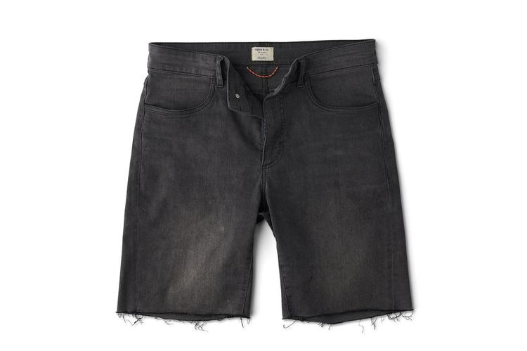 """Ripton and Co: Black """"Smoke"""" Colored Jorts Now Shipping"""