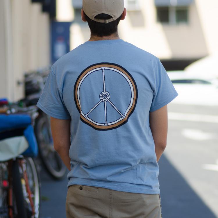 Rivendell's New Peace Wheel T-Shirts