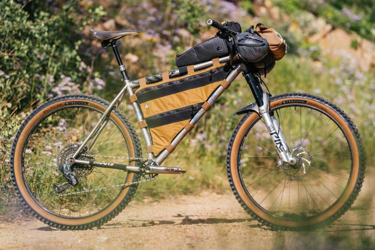 John's Moots Womble 29er Loaded for the San Juan Hut Telluride to Moab Route