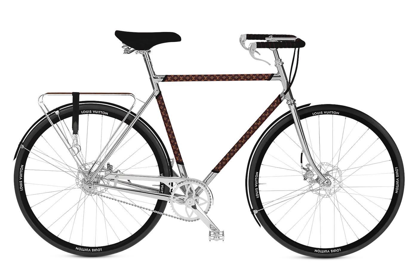 Behold the $28,900.00 Louis Vuitton by Maison Tamboite City Bike