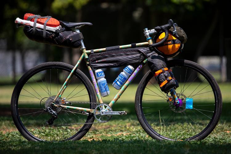 Squid Bikes Took their Gravtron Gravel Bikes from Reno to Sacramento