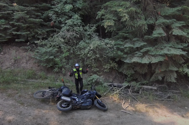 Jeff Kendall Weed Takes the Ibis Exie on a Road Trip with His Moto