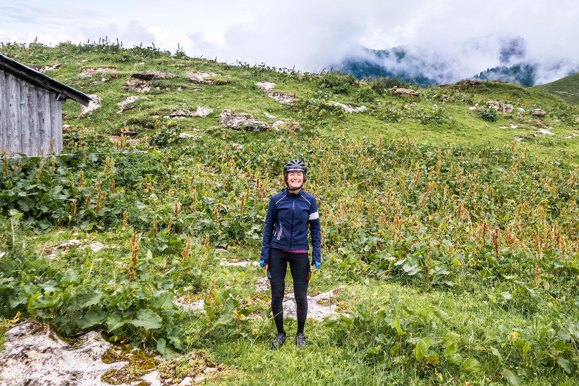 Team Tourist in the French Alps's Bostan Refuge