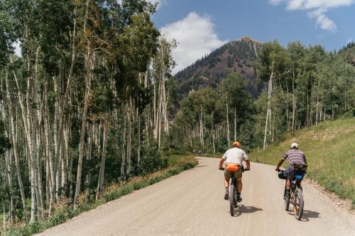 The climb up Last Dollar Road