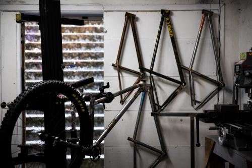 Inside / Out at WZRD. bikes