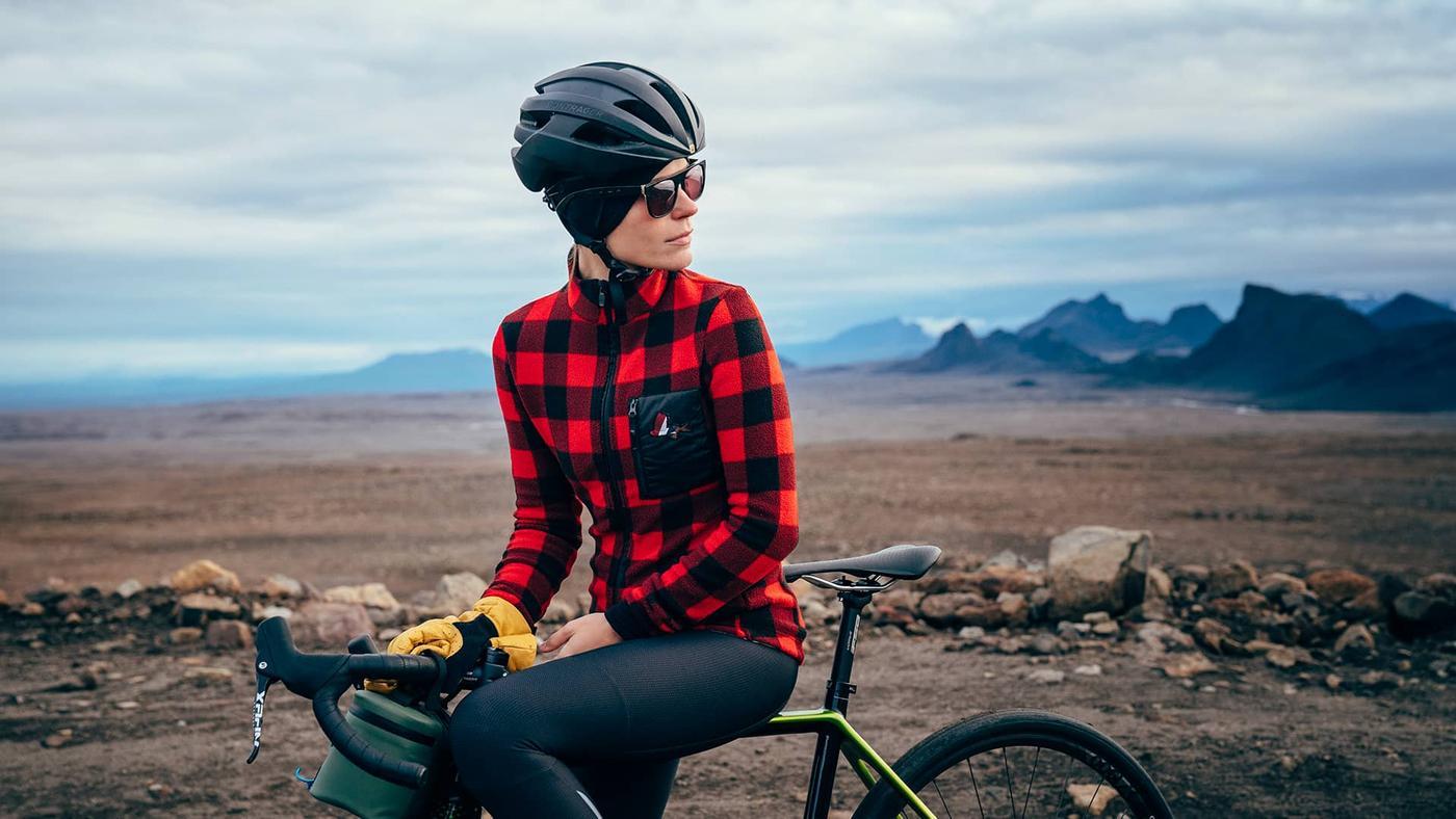 Cafe Du Cycliste's Solange Riding Flannel