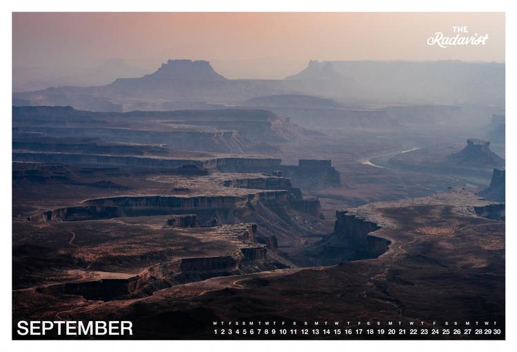 The Radavist 2021 Calendar: September
