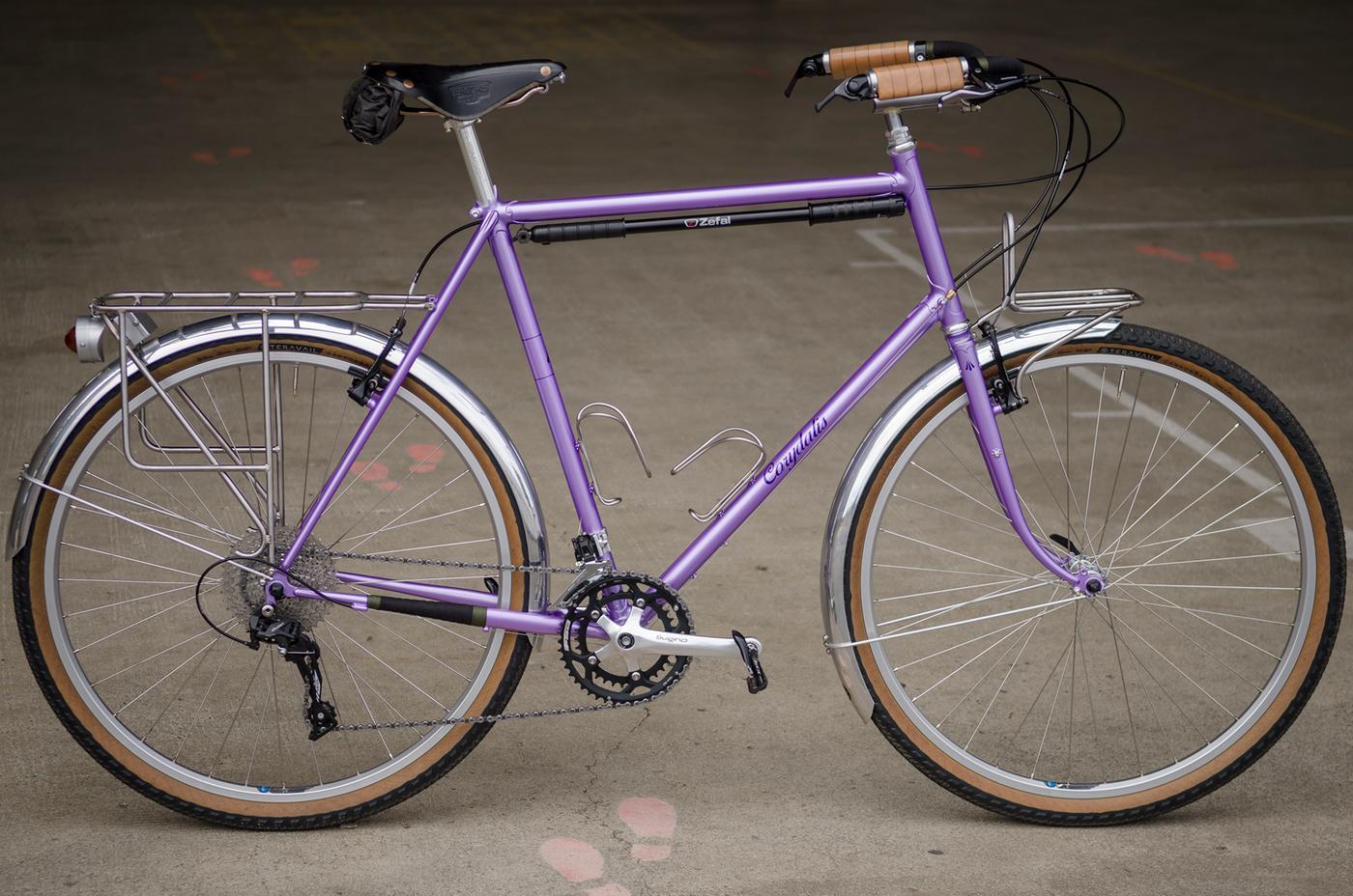 Readers' Rides: Shaun's Self-Built Columbus Cromor Lugged Tourer