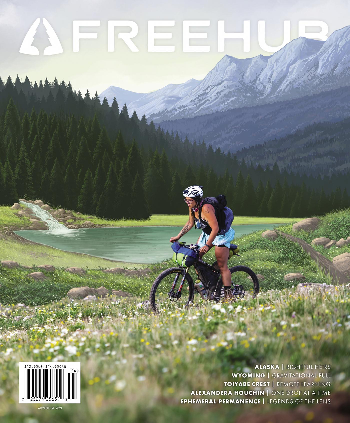 Alexandera Houchin Reflects on Her Cover Photo in Freehub Magazine