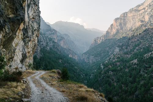 Belemedik Canyon.  One of the highlights of Turkey