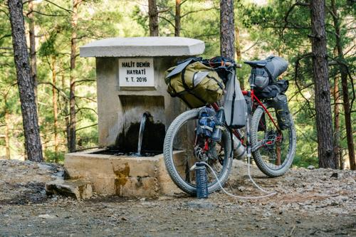 These roadside water spots are a savior.