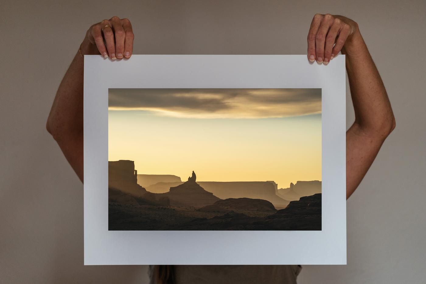 SOLD OUT: Our September Photo Print Benefits Dzil Ta'ah Adventures