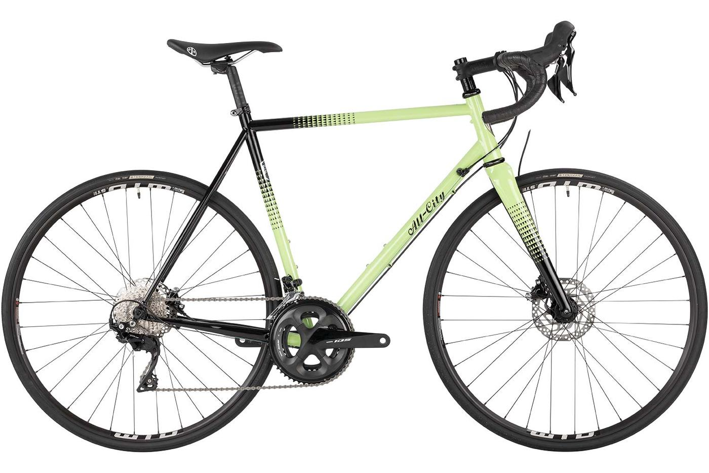 The All-City Cycles Zig Zag 105 and Ultegra Models Get New Colors