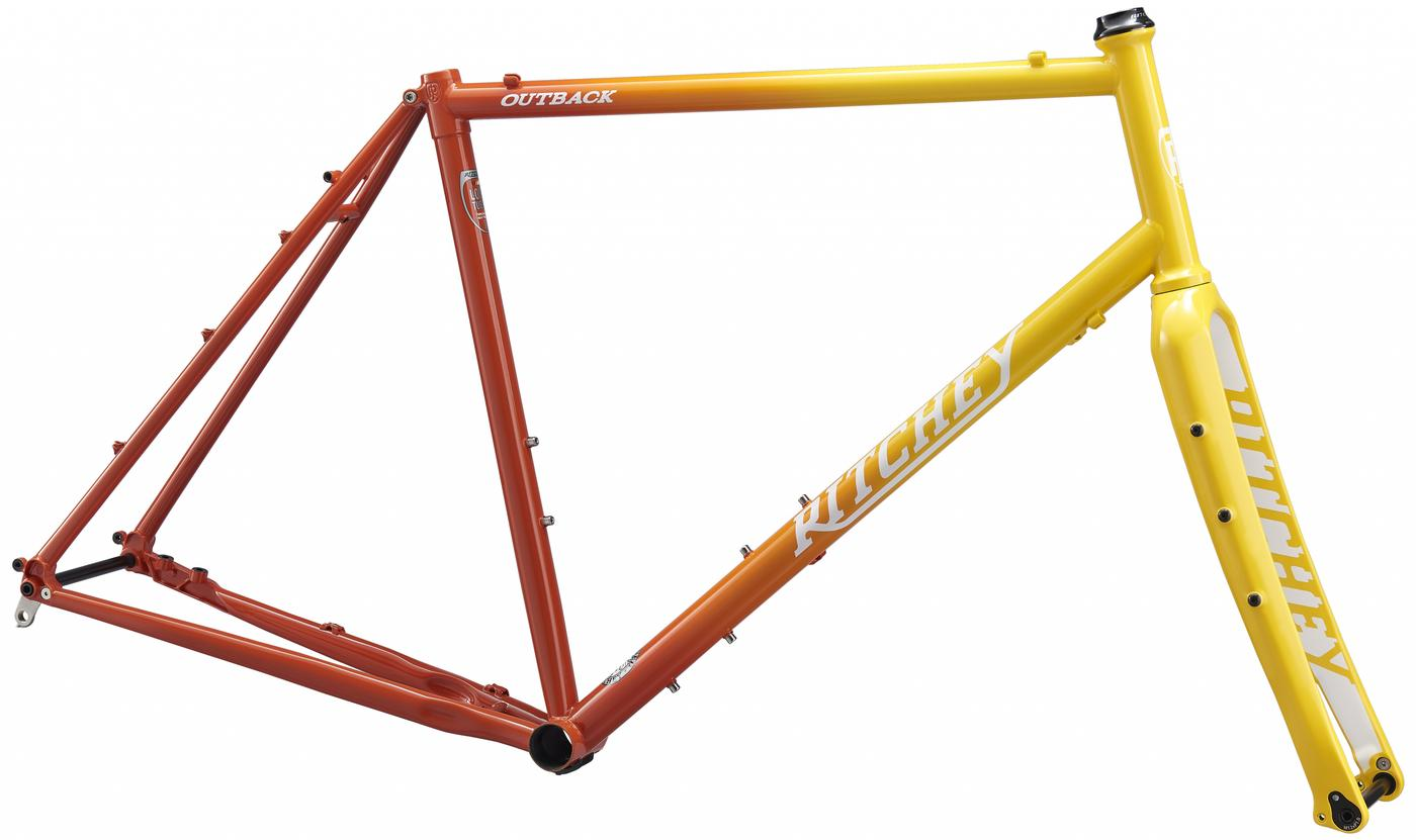 Ritchey Pings D&D Cycles on Its New Sunset Fade Outback