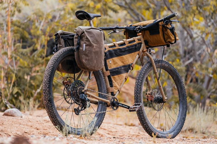 An Ode to Bicycle Touring: A Look at Buckhorn Bags' New Made in New Mexico Waxed Panniers