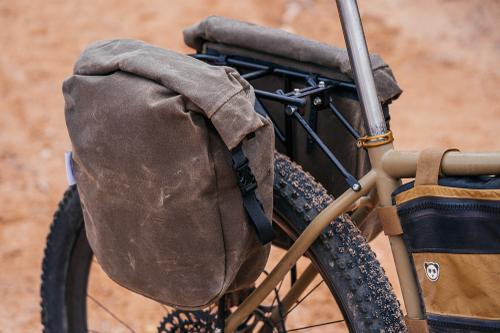 A Look at Buckhorn Bags' New Made in New Mexico Waxed Panniers