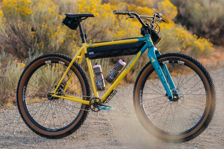 A Fundraiser for Ride Group: Win This Baphomet Bicycles New Mexico Single Speed Rigid MTB
