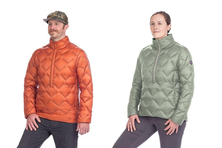 Big Agnes: New Ultralight Pullovers for Men and Women