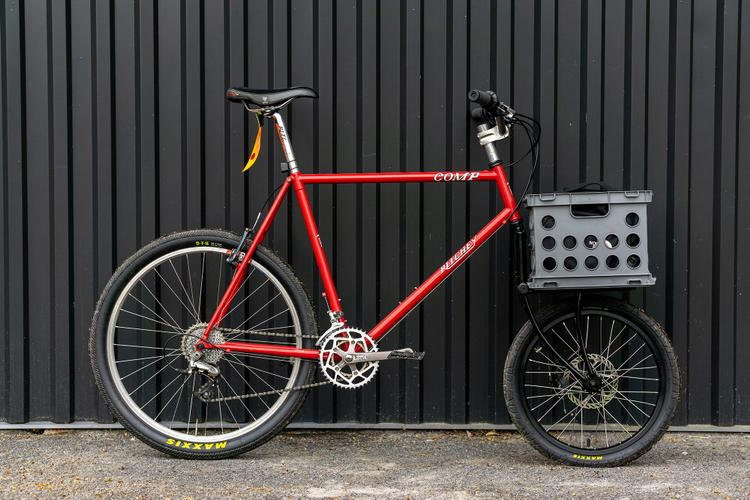 Readers' Rides: Sam's Ritchey with a Crust Clydesdale Fork