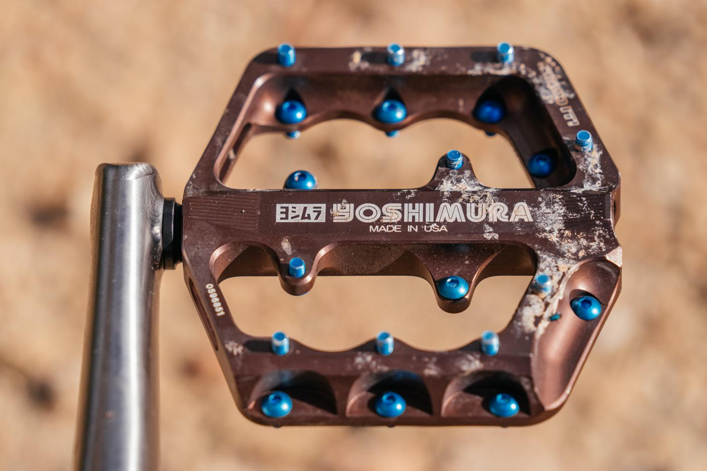 I Can't Get Enough of These Yoshimura Chilao MTB Pedals