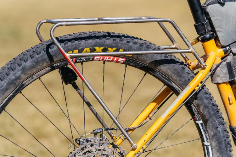 NM Bikepacking Summit: Mike from Broken Spoke's O'Leary Built Minimal Rack