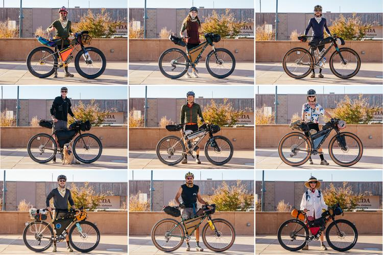 Scenes from the 2021 New Mexico Bikepacking Summit and the Dangerbird Grand Depart Rider and Bike Portaits